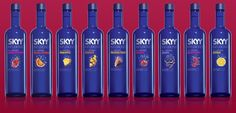Our beginning was motivated by one man's search for a better martini. The solution was simple in theory: Start with a better vodka Skyy Vodka, Bottle Lights, Oclock, Blood Orange, Bartender, Martini, Vodka Bottle, Alcoholic Drinks, Delicious Food