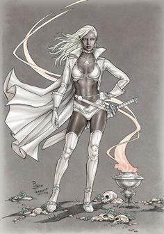 Dark Elf by staino.deviantart.com on @deviantART
