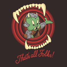 That's All Folks! - Star Wars / Looney Tunes mash-up