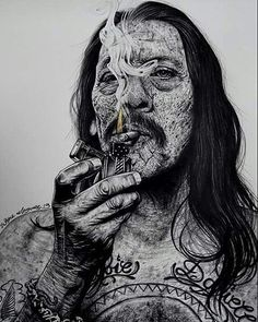 MACHETE! @officialdannytrejo @rodriguez #inkedikons #repost #tattoo #art #pencilart #inkstagram #inked  #portrait #smoking #machete  #dannytrejo #art_motive #smoke @officialdannytrejo @elreynetwork #art_spotlight #creativeempire #arts_help #arts_realistic #art_empire #art_sanity #topdraw #waynemaguire #arts_help #art_motive #worldofpencils