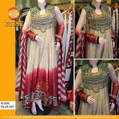 Latest Party wear outfit/Kotak Fashon brand dress collection 2014-15 | All Info Point