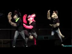 Anthrocon 2013 Fursuit Dance Compeition - 12 - Telephone - YouTube