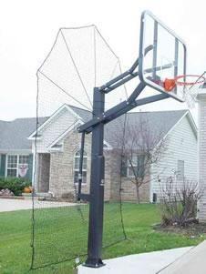 Basketball Accessories - Airball Grabber Basketball Rebounding Net System