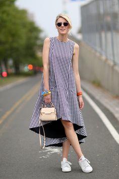 SS15, fashion week street snap
