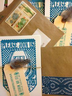 Invitation stamps