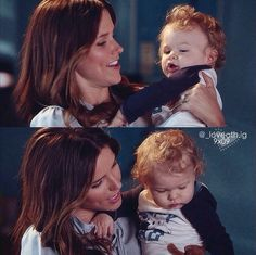 Brooke and baby Davis