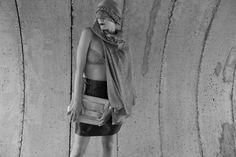 Rollo Cape, Chihiro top & Boxy Skirt