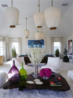 Ceiling fixtures, table acessories ( 1st Dibs)