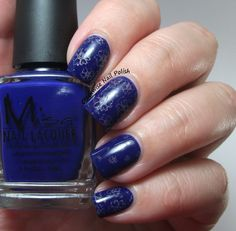 The Clockwise Nail Polish: Misa Winter Bluesy Blues