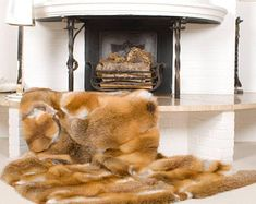 Dream Blanket, Fur Blanket, Fur Throw, Throw Pillows, Fur Accessories, Soft Blankets, Red Fox, Fox Fur, House Design