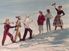 The Evolution of Ski Style in Vintage Photos - Condé Nast Traveler