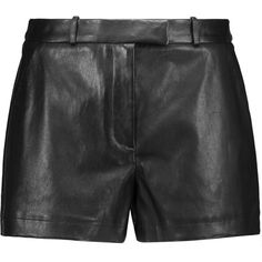 Emilio Pucci - Leather Shorts (8.245 ARS) ❤ liked on Polyvore featuring shorts, black, leather belt, travel shorts, print shorts, emilio pucci and emilio pucci shorts