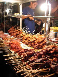 Cebu City, the Philippines Filipino Street Food, Asian Street Food, Filipino Food, Cebu City, Filipino Recipes, Asian Recipes, Don Papa, World Street Food, Bbq