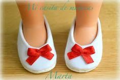 Resultado de imagen de patrones zapatos muñeca nancy
