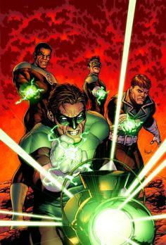 Green Lantern #25 cover by Gary Frank