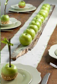 (-'_'-) Appels... ook leuk als tafeldecoratie!