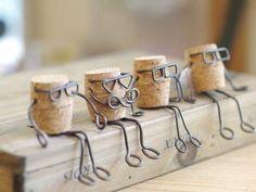 Vous aimez les idées créatives et le bricolage, regardez tous ce que vous pouvez créer avec des fils de fer! 1- une