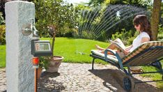 Irrigation, Outdoor Chairs, Outdoor Furniture, Outdoor Decor, Home Decor, Cas, Effort, Gardens, Automatic Irrigation System