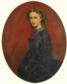 FRANZ XAVER WINTERHALTER 1805 - 1875 GERMAN WANDA FÜRSTIN VON UND ZU PUTBUS (1837-1867), NÉE FREIIN VON VELTHEIM-BARTENSLEBEN
