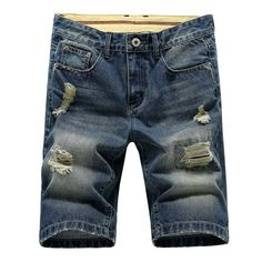 Men's cotton thin denim shorts New fashion summer male Casual short jeans Soft and comfortable casual shorts Size 28-38