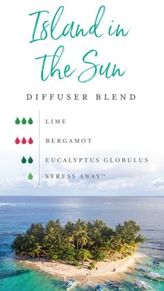 Our new motto: Life's a beach! But you don't need a tropical, exotic getaway to make it so! Just add Juniper, Bergamot, Eucalyptus Globulus, and Stress Away essential oils to your diffuser for this Island in the Sun diffuser blend. You'll think you're drifting away on hammocks under a gorgeous sun! #yleo #essentialoils #summerblend #diffuserblends