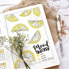 Perfect for summer - or really any time of the year these 40 juicy Citrus Bullet Journal Theme Ideas will have you running for your orange and yellow markers! Bullet Journal Travel, Bullet Journal How To Start A, Bullet Journal Lettering Ideas, Bullet Journal Notebook, Bullet Journal Spread, Bullet Journal Ideas Pages, Bullet Journal Inspiration, Journal Pages, Journals