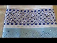 VIDEO 21 BORDADO XADREZ COM E SEM AVESSO #BORDADO XADREZ #SEM AVESSO - YouTube