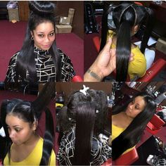 Vixen sew in.on point! Goddess Hairstyles, Weave Hairstyles, Cool Hairstyles, Face Hair, Hair Goals, Hair And Nails, Different Styles, Hair Extensions, Short Hair Styles