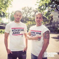 STRASSENKICKER   LIEBE DEINE STADT   KÖLSCHE JUNG   TATTOO @poldi_official    www.strassenkicker.com  #KölscheJung #poldi #LP10 #köln #Tattoo  #amazing #strassenkicker #style