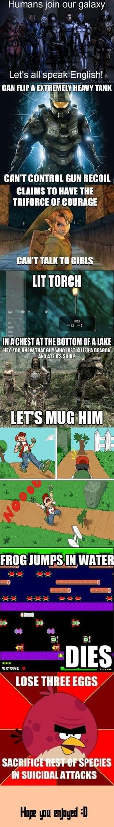 Video Game Logic - Imgur BTW...for the best game cheats, tips, check out: http://cheating-games.imobileappsys.com/