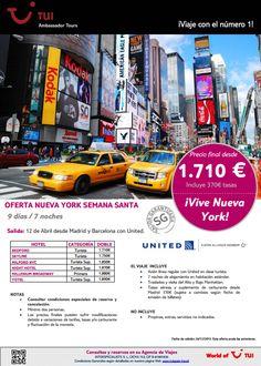 Te proponemos un plan ideal para #semanasanta venir a #nuevayork #newyork