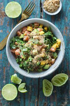 Ida Gran Jansen Cobb Salad, Mango, Frisk, Food, Manga, Essen, Meals, Yemek, Eten