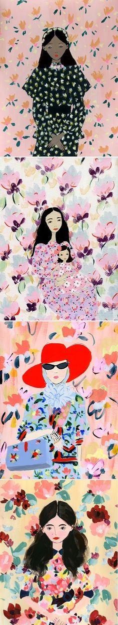 Paintings by Katy Smail / On the Blog!