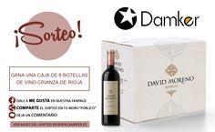 Sorteo Caja 6 Botellas Vino Crianza Bodegas David Moreno