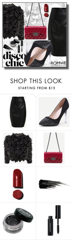 """Romwe II 7/10"" by dinna-mehic ❤ liked on Polyvore featuring Alexander McQueen, Urban Decay, Bobbi Brown Cosmetics and romwe"