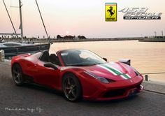 Ferrari 458 Spider Speciale in the works.
