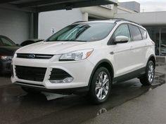 New 2013 Ford Escape SEL (White SUV) | Charleston