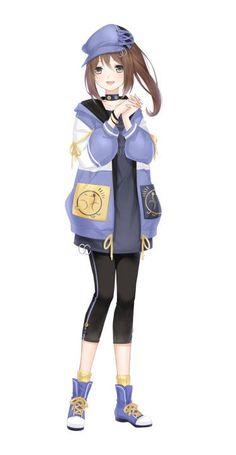 Character Costumes, My Character, Character Design, Pokemon Oc, Kawaii Drawings, Anime Outfits, Pictures To Draw, Anime Art Girl, Kawaii Anime