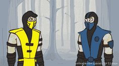 Mortal Combt Bros Gif