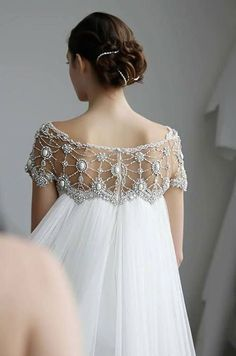 wedding gown Marchesa, Spring 2013 From Colin Cowie Weddings Wedding Robe, Wedding Gowns, Elven Wedding Dress, Art Deco Wedding Dress, Lace Wedding, Art Deco Dress, Spring Wedding, Mermaid Wedding, Wedding Hair