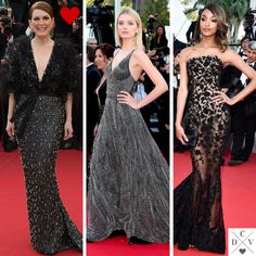 Black dresses at #Cannes2015