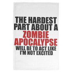 Zombie Apocalypse Hand Towel