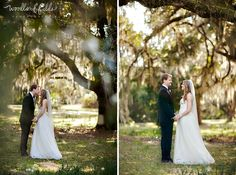 Ashley and Brian | Tallahassee Wedding Photographer | Woodland Fields Photography | Goodwood Museum | J crew wedding dress