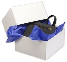 Solid Gift Box - White Two-Piece Gift Boxes, 9 x 9 x 5' (50 Boxes) - BOWS-252-090905C-9 ** To view further for this item, visit the image link.