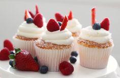 Berries on A Cloud Cupcake Recipe