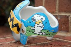 Snoopy/Peanuts Cranial Band DOC band  https://www.facebook.com/pages/Cranial-BandsMurals-by-Leigh-Gibson/153150921414230
