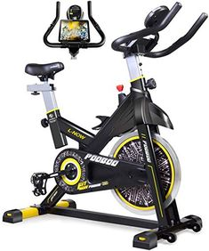 pooboo Indoor Cycling Bike, Belt Drive Indoor Exercise Bike, Stationary Bike LCD Display for Home Cardio Workout Bike Training : Sports & Outdoors Cycling Workout, Indoor Cycling Bike, Cycling Bikes, Road Cycling, Cardio Workout At Home, Gym Workouts, Cardio Fitness, Swimming Workouts, Training