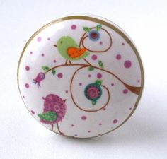 Bouton de meuble cupcake marron au chocolat bouton de porte pinterest b - Bouton de tiroir original ...