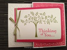 Stampin Up - Thoughts and Prayers set