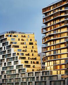 Viviendas en París  / Hamonic + Masson & Associés + Comte Vollenweider